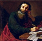 apostle paul writing verses